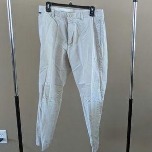 Structure light kakhi pants good condition 33×30